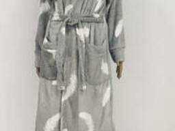 Махровый женский халат на запах 48-54р, доставка по Украине
