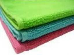 Махровые банные полотенца, разная цветовая гамма