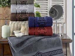 Махровые полотенца 6 штук Турция , наборы полотенец