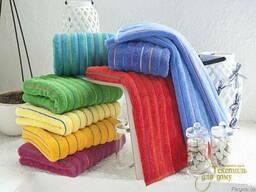 Махровые полотенца, полотенца с логотипом