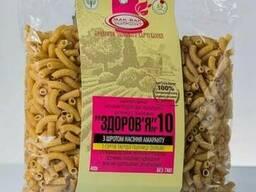 Макароны «Здоровье» №10 с семенами амаранта из тв. сортов