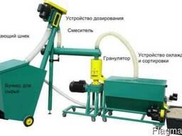Малая линия гранулирования биомассы MGL 100