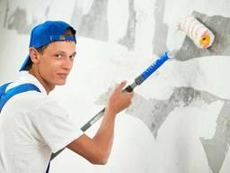 Маляр, Малярные работы, Покраска стен
