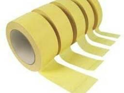 Малярный скотч 95-140мкн,в рулонах от 10 до 50м
