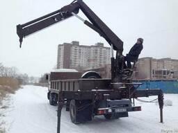 MAN кран - манипулятор 10 тонн