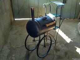 Мангал-барбекю (ковка паровоз)