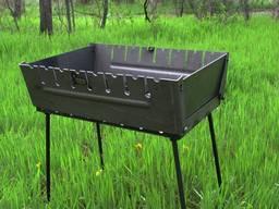 Мангал-чемодан на 8 шп. , облегченный