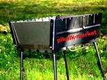 Мангал раскладной металл 2мм - фото 2