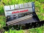 Мангал раскладной металл 2мм - фото 4