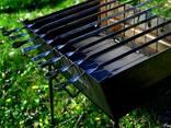 Мангал раскладной металл 2мм на 8 шампуров - фото 2