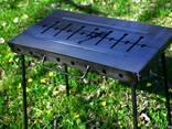 Мангал раскладной металл 2мм на 8 шампуров - фото 3