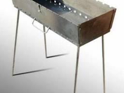 Мангал трансформер на 12 Шампуров (Чемодан , 3 мм)