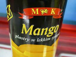 Манго ломтиками в сиропе M&K, 0,425г