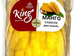 Манго натуральный сушёный без сахара King 1 Кг. Натуральный 100%