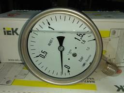 Манометр 1, 5 кг глицерин 100 мм