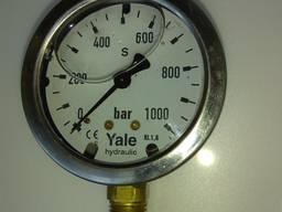 Манометр глицериновый 1000 бар 63мм радиальный