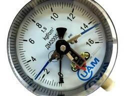 Манометр Дм2005-У2-16 Кгссм. кв-1,5-М20Х1,5