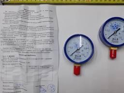 Манометр кислородный ДМ 05063 P-1, 0 МПа кл. 2, 5 М12x1, 5