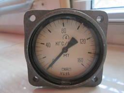 Манометр МТ 0-160 кгс/см2