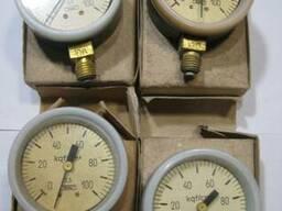 Манометр МТП-1М 0-100 кгс/см2