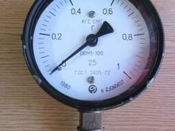 Манометр ОБМ1-100 1 кгс/см2