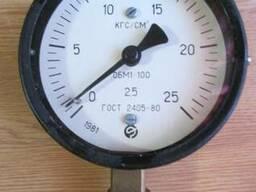 Манометр ОБМ1-100 25 кгс/см2
