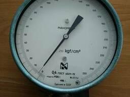 Манометр образцовый МО(0-250кг)к. т. 0, 4