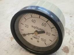 Манометры МТП -4М, 100кгс\см2. -27шт.