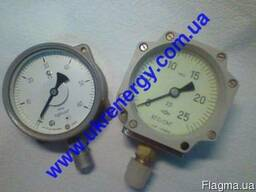 Манометры МТПСд-100-ОМ2, ВТПСд-100-ОМ2, МВТПСд-100-ОМ2