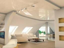 Натяжной Потолок на Мансарду