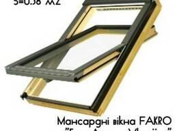 Мансардне вікно Fakro - FTS U2 (66х98см) м. Черкаси