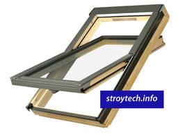 Мансардное окно FAKRO со среднеповоротным открыванием