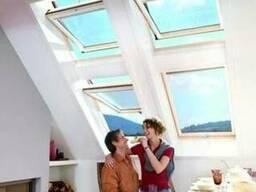 Мансардное окно Roto Designo R45 H RotoTronic EF 54х78 см