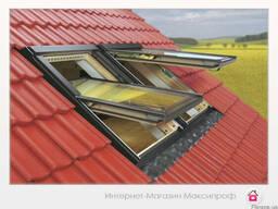 Мансардные окна с комбинированной системой открывания