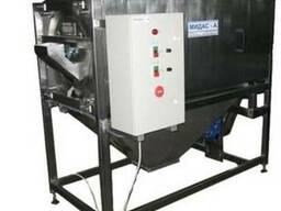Машина барабанно-щеточная МТ-1500 для чистки ядер семян тыкв