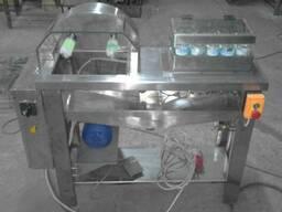 Машина для мытья бутылок ершами