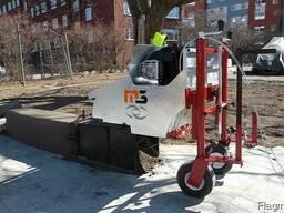 Машина для установки бордюров и тротуаров M3