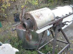 Машина, пушка для разрыва зерен газовая на 6 кг загрузка