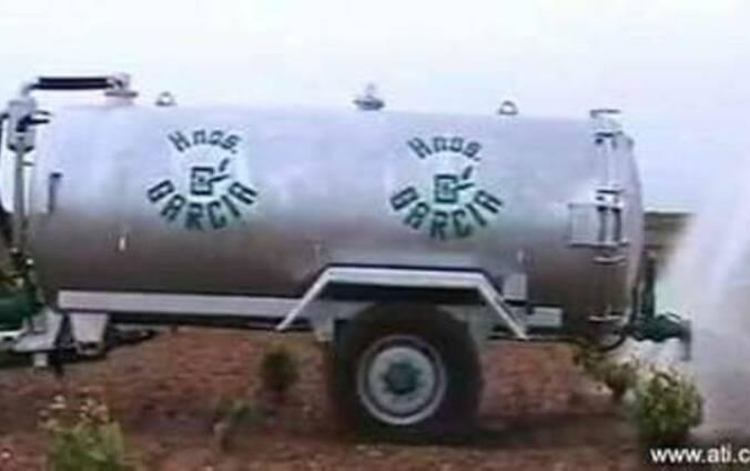 Машина внесения жидких удобрений ECO-6 (Испания)