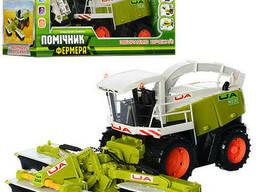 Машинка из набора Zztoys Помощник фермера Комбайн (0345)