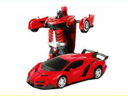 Машинка трансформер Lamborghini Robot Car Size 1:18 . ..