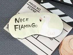 Маска для сна Хороший фламинго SKL32-152727
