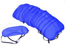 Маска для сна королевский синий цвет наглазная повязка очки для сна отдыха