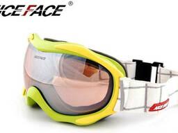 Маска горнолыжная Nice Face 925 Neon Green