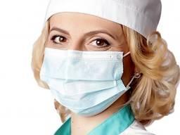 Маска медицинская защитная хирургическая