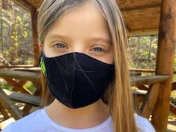Маска многоразовая детская «Danger» 7-12 лет