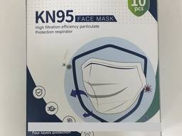 Маска защитная с клапаном N95 FFP2 (10 шт. упаковка)
