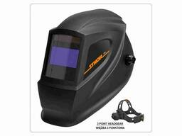 Маска зварювальника з автозатемнювальним світлофільтром Sthor 100 х 50 мм