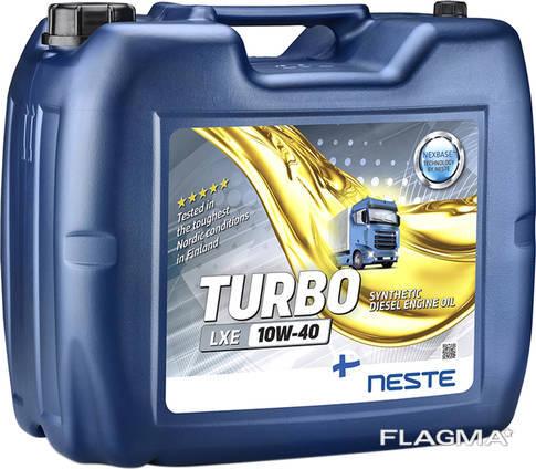 Масло груз neste turbo lxe 10w-40 евро3 20 л ( Финляндия)