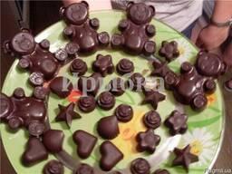 Масло какао , какао тертое, агар - агар, кэроб, плёнка - луч - фото 5